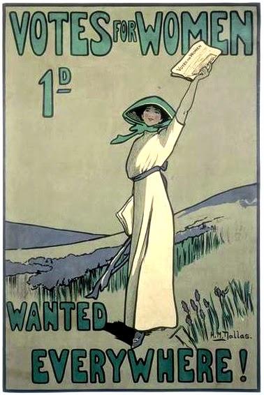 WSPU poster, 1909